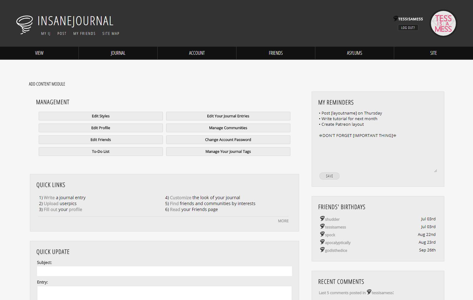 My IJ Portal